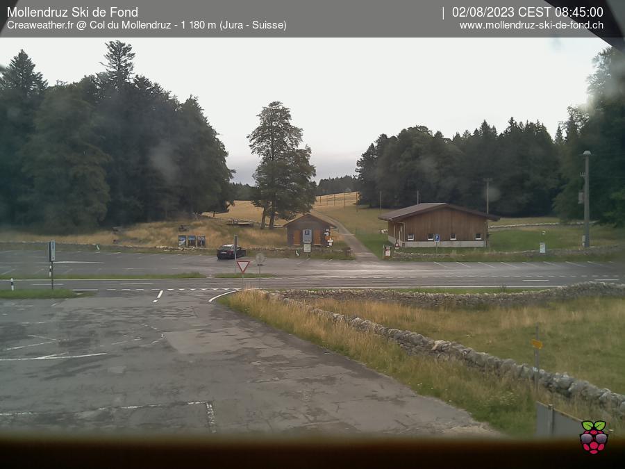 Webcam Mollendruz Ski de fond - Alt. 1180 m